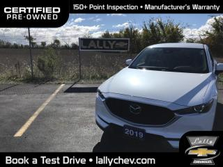 Used 2019 Mazda CX-5 GS**AWD**LEATHER**HEATED SEATS**SAFETY PKG**HEATED for sale in Tilbury, ON