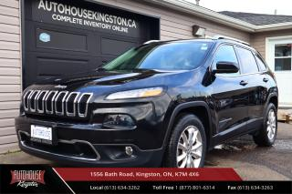 Used 2016 Jeep Cherokee Limited 4X4 - HEATED AND COOLED SEATS - LEATHER for sale in Kingston, ON