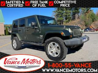 Used 2008 Jeep Wrangler Unlimited Sahara 4X4 for sale in Bancroft, ON
