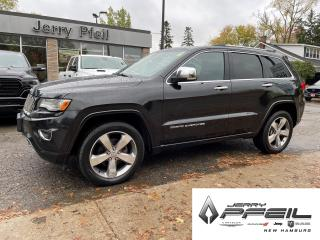 Used 2015 Jeep Grand Cherokee OVERLAND l PANO ROOF l NAV l ONE OWNER for sale in New Hamburg, ON