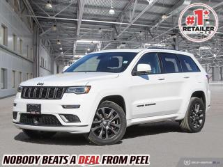 Used 2018 Jeep Grand Cherokee Overland for sale in Mississauga, ON