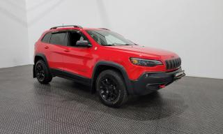 Used 2019 Jeep Cherokee Trailhawk AWD - Cuir - Bluetooth for sale in Laval, QC