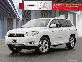 Used 2010 Toyota Highlander LIMITED  for sale in Whitby, ON