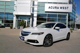 Used 2015 Acura TLX Tech Tech Model, Comprehensive warranty until Sept for sale in London, ON