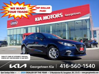 Used 2016 Mazda MAZDA3 GS | SUNROOF | BU CAM | HTD SEATS | B/T | ALLOYS for sale in Georgetown, ON