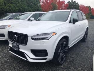 New 2022 Volvo XC90 Recharge Plug-In Hybrid T8 R-Design for sale in Surrey, BC
