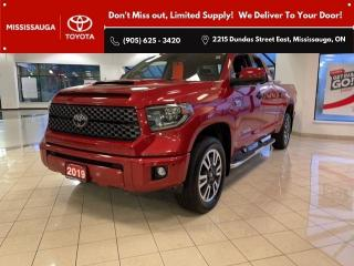 Used 2019 Toyota Tundra TRD Sport Double Cab 4WD for sale in Mississauga, ON
