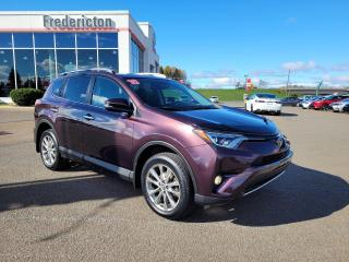 Used 2018 Toyota RAV4 LIMITED  for sale in Fredericton, NB