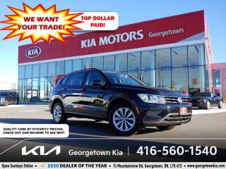 Used 2019 Volkswagen Tiguan Trendline 4MOTION | CLN CRFX | BU CAM | B/T | for sale in Georgetown, ON