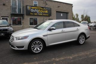 Used 2015 Ford Taurus Limited AWD/ Leather/ NAV/ Back-Up Camera/ No Accident for sale in Newmarket, ON