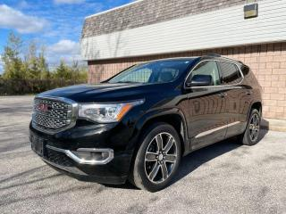 Used 2018 GMC Acadia NO ACCIDENTS | DENALI | WOOD TRIM | NAVI | SUNROOF | for sale in Barrie, ON