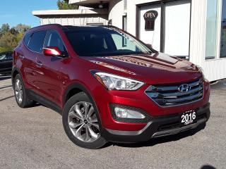 Used 2016 Hyundai Santa Fe Sport 2.0T LIMITED AWD - LEATHER! NAV! BACK-UP CAM! BSM! PANO ROOF! for sale in Kitchener, ON