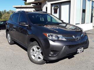 Used 2015 Toyota RAV4 LE FWD - BACK-UP CAM! HEATED SEATS! ACCIDENT FREE! for sale in Kitchener, ON
