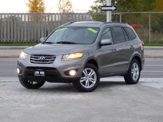 Used 2011 Hyundai Santa Fe 1-OWNER,CERTIFIED,SUNROOF,HTD SEATS,LOADED,LOW KMS for sale in Mississauga, ON