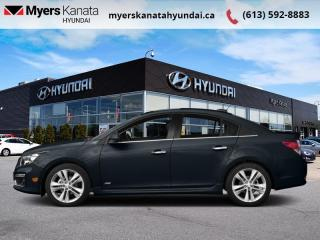 Used 2015 Chevrolet Cruze 1LT  - $69 B/W for sale in Kanata, ON