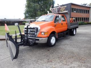 Used 2010 Ford F-650 Crew Cab 2WD Plow Truck Diesel for sale in Burnaby, BC
