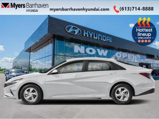 New 2022 Hyundai Elantra Essential IVT  - $137 B/W for sale in Nepean, ON