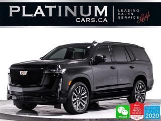 Used 2021 Cadillac Escalade Sport Platinum,V8,7 PASSENGER,38''OLED DISPLAY,HUD for sale in Toronto, ON