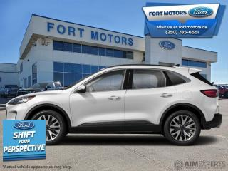 New 2021 Ford Escape Titanium AWD  - $291 B/W for sale in Fort St John, BC
