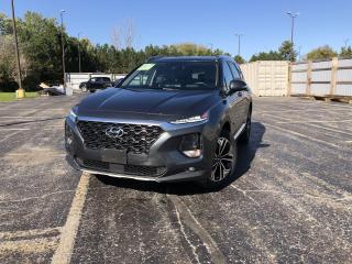 Used 2019 Hyundai Santa Fe ULTIMATE HTRAC AWD for sale in Cayuga, ON