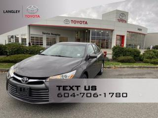 Used 2016 Toyota Camry LE Fresh New Arrival! for sale in Langley, BC