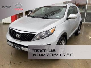 Used 2016 Kia Sportage EX Fresh New Arrival! for sale in Langley, BC