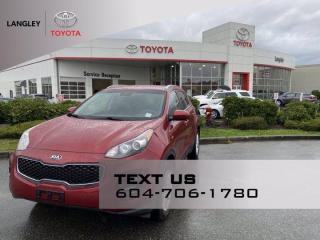 Used 2018 Kia Sportage LX AWD One Owner, No Accident for sale in Langley, BC