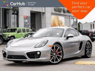 Used 2014 Porsche Cayman S Heated Seats BOSE Sound Navigation Bluetooth SXM for sale in Thornhill, ON