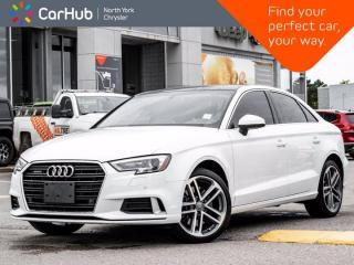 Used 2020 Audi A3 Sedan KOMFORT for sale in Thornhill, ON