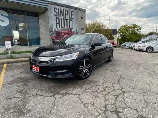 Used 2017 Honda Accord Touring for sale in Barrie, ON