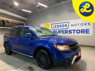 Used 2015 Dodge Journey CrossRoad AWD * Navigation *  Heated Leather Seats * Sunroof * 7 Passenger * Over Head DVD Player * Alpine Audio System * Remote Start *  225/65/17 Wi for sale in Cambridge, ON