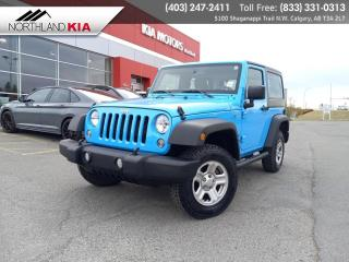 Used 2017 Jeep Wrangler SPORT for sale in Calgary, AB