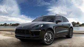 New 2021 Porsche Macan Turbo for sale in Langley City, BC