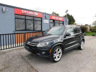 Used 2012 Volkswagen Tiguan COMFORTLINE|AWD|PANO ROOF| for sale in St. Thomas, ON