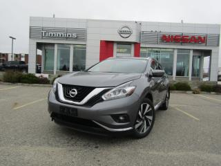 Used 2018 Nissan Murano for sale in Timmins, ON