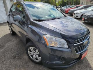 Used 2014 Chevrolet Trax LS/CLEAN CARFAX/LUMBAR/AUTO/BLUE TOOTH/CLEAN for sale in Scarborough, ON