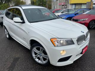 Used 2011 BMW X3 35i/NAVI/LEATHER/ROOF/LOADED/ALLOYS for sale in Scarborough, ON
