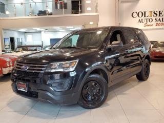Used 2017 Ford Police Interceptor Utility AWD **BACK UP CAMERA-KEYLESS-CENTER CONSOLE** for sale in Toronto, ON
