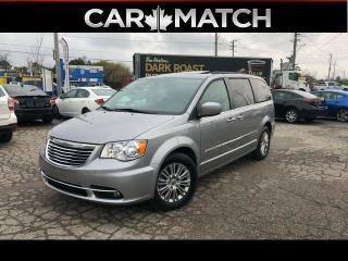 Used 2016 Chrysler Town & Country TOURING L / LEATHER / DVD / NAV /  NO ACCIDENTS for sale in Cambridge, ON