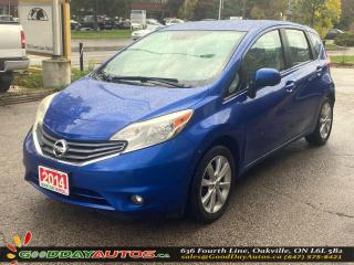 Used 2014 Nissan Versa Note SL|NO ACCIDENT|NAVIGATE|BLUETOOTH|CAMERA|CERTIFIED for sale in Oakville, ON