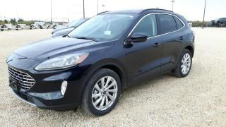 New 2021 Ford Escape Titanium Hybrid for sale in Elie, MB