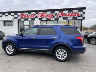 Used 2015 Ford Explorer XLT 4WD, Leather, Backup, Bluetooth, DVD for sale in Saskatoon, SK