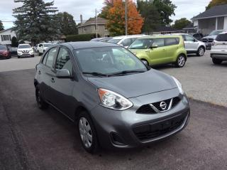 Used 2017 Nissan Micra SV A/C. POWER GROUP. BLUETOOTH. for sale in North Bay, ON