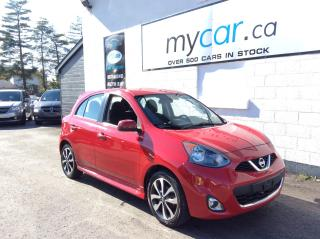 Used 2017 Nissan Micra ALLOYS. BACKUP CAM. BLUETOOTH. POWER GROUP. for sale in North Bay, ON