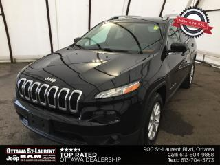 Used 2016 Jeep Cherokee North TRAILER TOW GROUP, COLD WEATHER GROUP, ALPINE AUDIO, POWER LIFTGATE for sale in Ottawa, ON