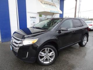Used 2013 Ford Edge Limited AWD, Nav, DVD, Pano Roof, Leather, Camera for sale in Langley, BC