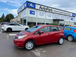 Used 2015 Nissan Versa Note 1.6 SV REAR CAMERA | HEATED DOOR MIRRORS | BLUETOOTH | for sale in Brampton, ON