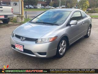 Used 2008 Honda Civic LX|LOW KM|NO ACCIDENT|WARRANTY|CERTIFIED for sale in Oakville, ON