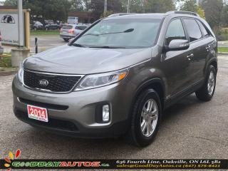 Used 2014 Kia Sorento LX|NO ACCIDENT|AWD|WARRANTY|CERTIFIED for sale in Oakville, ON