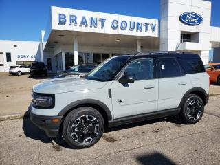 New 2021 Ford Bronco Sport Outer Banks for sale in Brantford, ON